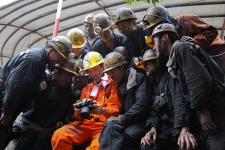 煤矿工人生活