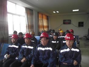 台基麻地沟煤业开展反风演习活动
