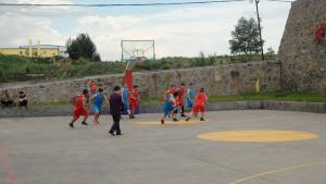 88qi牌娱le花gou煤业员工风采之篮球比赛