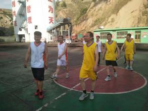 神达大桥沟煤业公司员工风采之篮球比赛