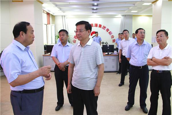 忻zhou市政协主席(shi任市weichangwei、组织部长)王建ting在集团公司调研zhi导工zuo