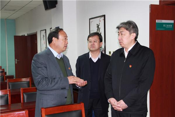 忻州市委副书记、市长(时任市政法委书记)朱晓东莅临神达调研指导工作