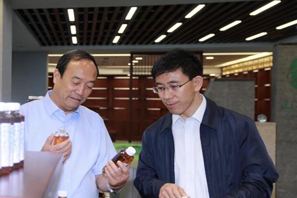市委常委、组织部长秦书义在神达能源集团调研